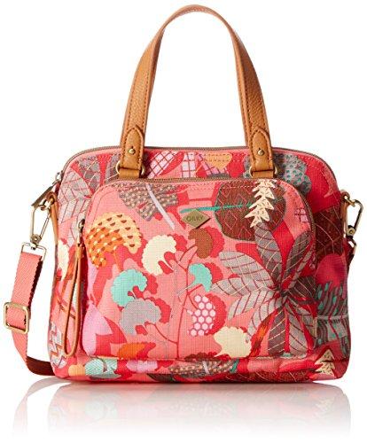Oilily Damen S Handbag Henkeltasche, (Pink Flamingo), 10x20x26 cm