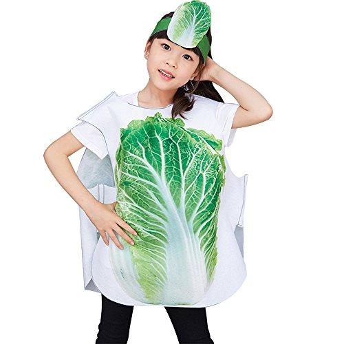 üse und Tier Kostüme Anzüge Outfits Kostümfest Party Kostüm für Jungen und Mädchen Kinderkostüm, Kohl, L(65cm*72cm) ()