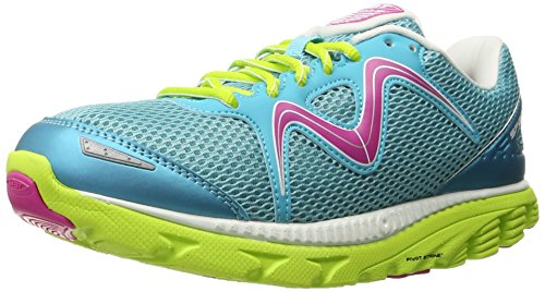 Chaussures MBT 700806-473Y SPEED BLANC Turquoise