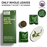 #10: Onlyleaf Tulsi Green Tea, 27 Tea Bags with 2 Free Exotic Samples