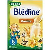 Blédina blédine céréales pour bébés saveur vanille 500g dès 6 mois - ( Prix Unitaire ) - Envoi Rapide Et Soignée