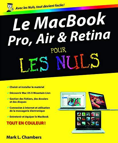 MacBook (Pro, Air et Retina) pour les Nuls par Mark L. CHAMBERS