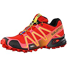 Salomon Speedcross 3 Women Trail Laufschuhe radiant red-madder pink-corona yellow - 38 2/3