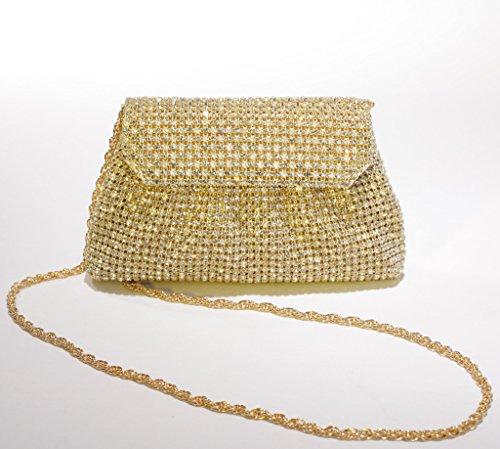 Josephine Osthoff Handtaschen-Manufaktur, Poschette giorno donna one size gold