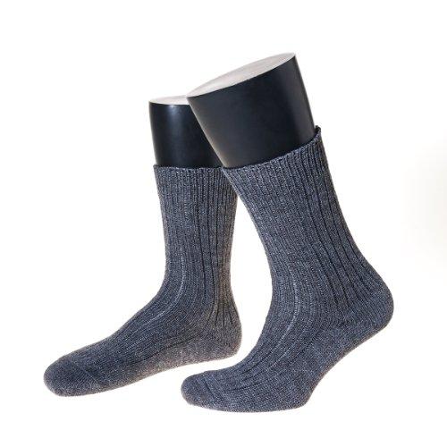 nordpol-norwegersocke-kurz-von-nordpol-aus-schurwolle-polyester-mischung-in-grau-45-47