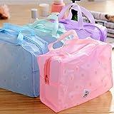 vycloud (TM) viaje esencial transparente impermeable maquillaje lavado baño productos con bolsa