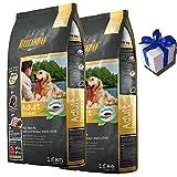 2 x 15 kg Belcando Dinner Trockenfutter Hundefutter normale Aktivität + Geschenk