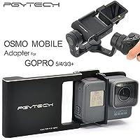 XSD moedl PGY GoPro Hero 5433+ Accesorios Adaptador Interruptor Placa De Montaje Para DJI OSMO–Funda para cardán cámara Handheld teléfono Drone Piezas