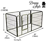 Doggy Style Heavy Duty Puppy Play Pen, X-Large
