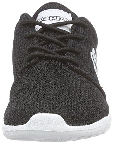 Kappa Speed Ii, Baskets Basses Mixte Adulte Noir (Black/white)