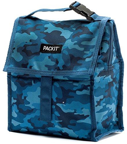 Pack-it PACKIT 2000-0051 Sac-Repas Mixte Adulte, Blue Camo, 4,4 L