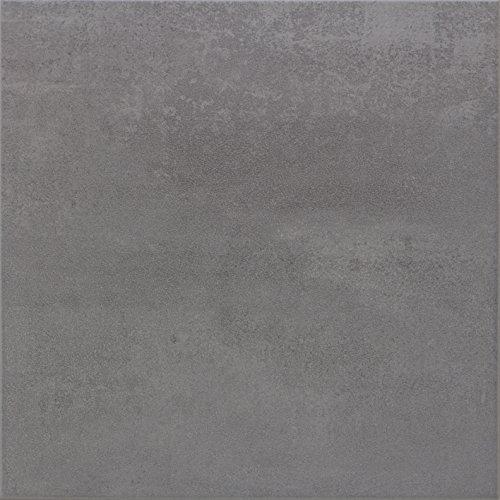 """""""Nordkap Grau"""" Bodenfliesen 33x33 cm, Feinsteinzeug Fliesen (1 m²)"""