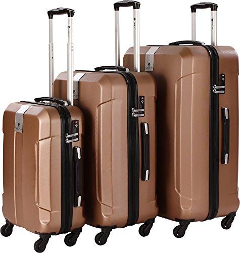 CheckIn Riga lot de 3 valises 4 roulettes kupferfarben