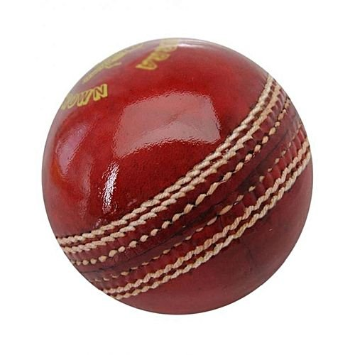 Forever Online Shopping Yorker 2 Part Red Leather Cricket Ball (1)