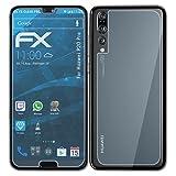 atFolix Displayschutzfolie für Huawei P20 Pro Schutzfolie - 3er Set FX-Clear kristallklare Folie
