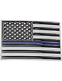 Corrosionp Boucle de ceinture Western Cowboy Le drapeau américain Boucle de  ceinture pour Hommes Femmes 0d7272c9165