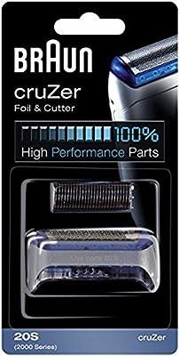 Braun CruZer Replacement Foil & Cutter (Fits CruZer 1, 2, 3, 4, 1000, 2000 Series)