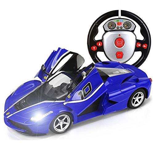 Ycco Elektrische Fernbedienung Auto Rotation Stunt Driften Fahrzeug 2,4 GHz 1:18 Spielzeug Modell Mini RC LKW Jungen Mädchen leuchten mit Licht Junge Mädchen Geburtstag Spielzeug for Kinder Geschenk