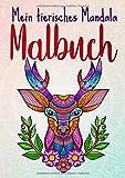 Mein tierisches Mandala Malbuch: 50 Tiermandalas für Kinder ab 6 Jahren, Kreativität fördern mit dem Mandala Malbuch für Kinder, ein tolles Geschenk ... Köpfe (Mandala Malbuch Kinder, Band 2) - le petit créatif