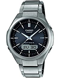 Casio Wave Ceptor – Herren-Armbanduhr mit Analog/Digital-Display und Massives Titanarmband – LCW-M500TD-1AER