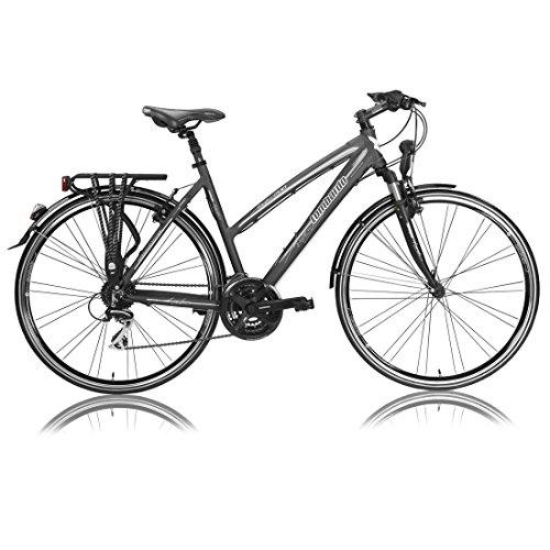 "Vélo fitness dame AMANTEA 200 CITY anthracite 2017 - 16"""
