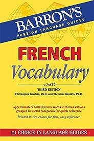 French Vocabulary (Barron's Vocabul