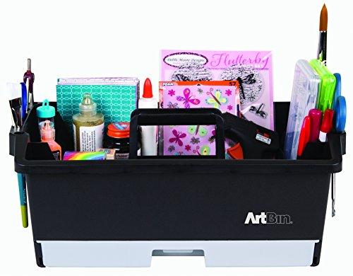 (Unbekannt ArtBin Kunst/Craft Supply Caddy–Schwarz/Gray- 6963AG)