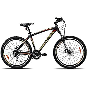 UT HT5 26T 24 Speed Junior Cycle  18-inches (Black)