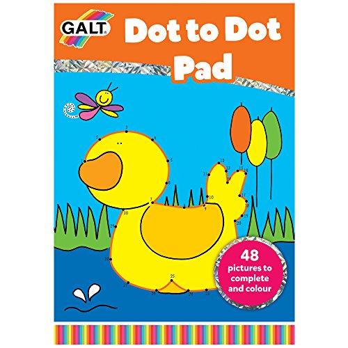 Galt Toys A5Dot to Dot Buch