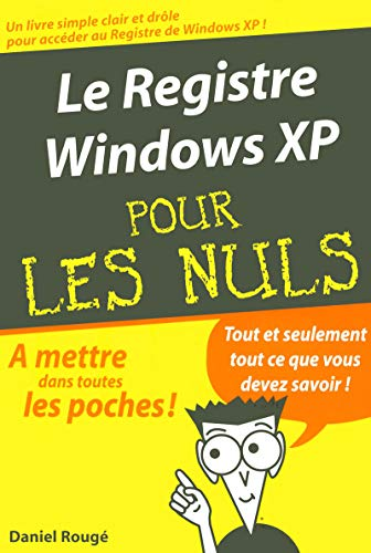 Le registre Widows XP par Collectif