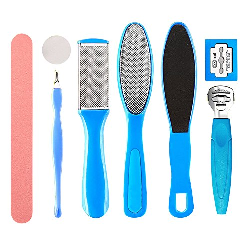 conteverr-1-set-of-8-pcs-pedicure-foot-care-set-pedicure-scissor-cuticle-grooming-utility-tools