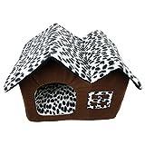Cuccia a Casa Letto Pieghevole Cuccia con Cuscino Casa Cuscini Divano per Cani Gatti Lettino Animali