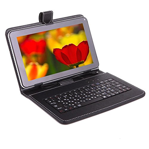 IKALL N1(1+16GB) Dual Sim Calling 8 Inch Display 4G Volte Supported Calling Tablet with Keyboard,Golden