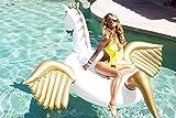 Jasonwell®Riesiger aufblasbarer Pegasus Pool Floß mit speziellen schnell Ventilen. -
