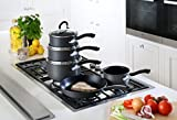 Tefal Inspire Hard Anodised Non-stick Cookware Set, 5 Pieces - Grey