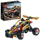 LEGO 42101 Technic Ensemble de construction buggy vers voiture de course 2in1, Collection de véhicules tout terrain et de course