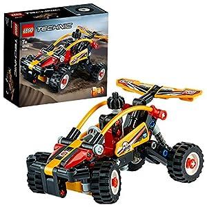 LEGO Technic Buggy e Macchinina da Corsa, Set da Costruzione2in1, Collezione Fuoristrada e Auto da Corsa, 42101 5702016616408 LEGO