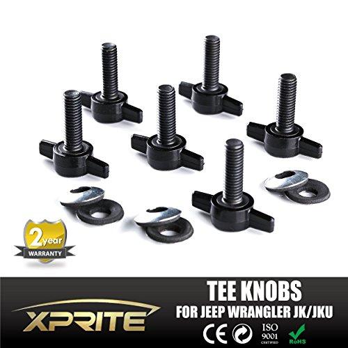 xprite-jeep-wrangler-jk-jku-6-tee-knobs-set-hard-top-quick-removal-change-kit-for-2007-2016-sport-sa