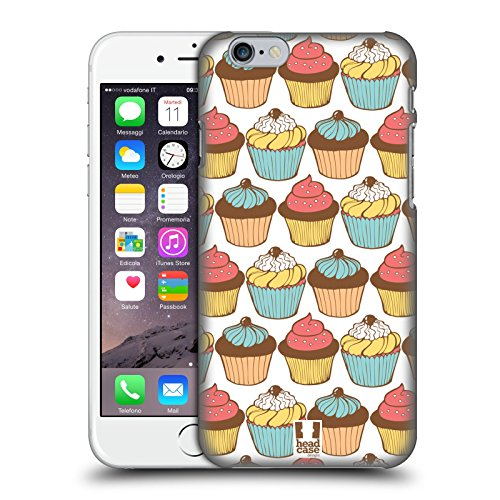 Head Case Designs Dolci Piaceri Cupcake Cover Retro Rigida per Apple iPhone 7 Plus / 8 Plus Pattern Golosi