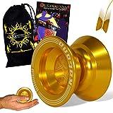 Infinity Katana Yoyo - Axe de roulement Yo-Yo + Original Spin DVD + Sac de Voyage! Métiers Professionnels Yo Yo 1A Tricks