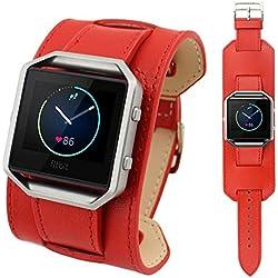 Susenstore Luxury Watch band Wrist strap For Fitbit Blaze Smart Watch