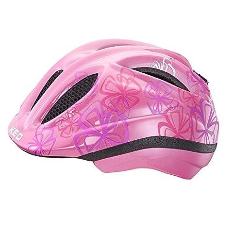KED Meggy Trend Helmet Kids Violet Flower Kopfumfang 49-55 cm 2017 mountainbike helm downhill
