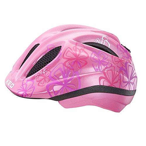 KED Meggy Trend Helmet Kids Violet Flower Kopfumfang 46-51 cm 2017 mountainbike helm downhill