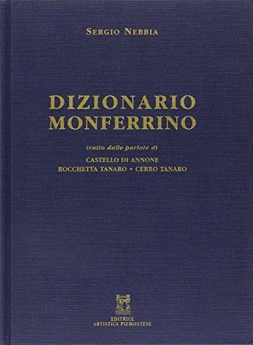 Dizionario monferrino