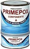 Marlin Primepox Epoxy Primer 2,5 Liter rot - Grundierung Alu, Eisen & Blei