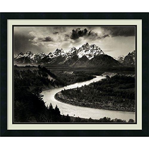 Die Tetons und der Snake River, Grand Teton National Park, Wyoming, 1942von Ansel Adams -