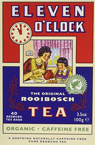 ELEVEN O'CLOCK TEA Organic Eleven O'Clock Rooibosch Tea Bags 40bags (PACK OF 5)