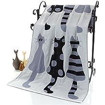 Babypflege Baby Handtuch 70x140 Cm 3 Schichten Organische Baumwolle Gaze Material Kinder Handtücher Weich Cartoon Handtuch Baby Bad Handtuch Für Neugeborene