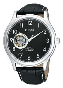 Pulsar Uhren - PU7007X1 - Montre Homme - Automatique - Analogique - Bracelet Cuir Noir