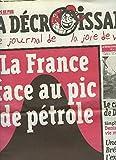 CASSEURS DE PUB. LA DECROISSANCE, LE JOURNAL DE LA JOIE DE VIVRE N°47, MARS 2008. RALENTIR LA VILLE / PARIS HILTON SAUVERA-T-ELLE LA PLANETE ? / COMMENT LES PESTICIDES ONT TUES LA TERRE / ...